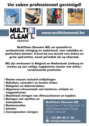 Multiclean-visitekaartjes
